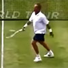 Tennis Players Hitting The Opponent