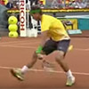 Nadal's Tweener Against Djokovic